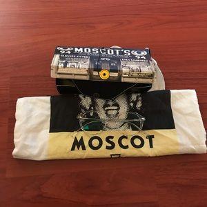 MOSCOT Accessories - Moscot unisex Miltzen clear eye glasses